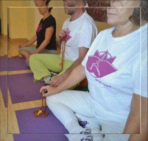 Meditación en Loto yoga